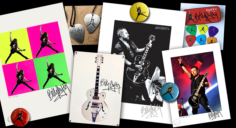 Billy Duffy Online Shop